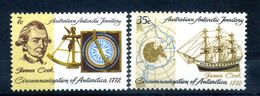 1972 TERRITORIO ANTARTICO AUSTRALIANO SET MNH ** 21/22 - Australian Antarctic Territory (AAT)