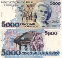 BRAZIL, 5000 Cruzeiro, 1993, P232c, UNC - Brésil