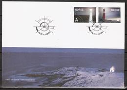 Norway 2005  Lighthouses, Jomfruland And Tranøy   MI 1546-1547 FDC - Norwegen