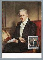 Berlin 1969  Mi.Nr. 346 , 200. Geburtstag Von Alexander Freiherr Von Humboldt - Maximum Card - Stempel Berlin 12.09.1969 - [5] Berlijn