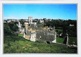 Pays De Galles   Ruines Du Collège  St Mary à St David   Années 80's - Autres