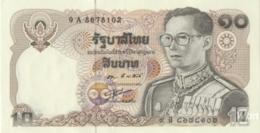 Thailand 10 Baht (P87) Sign 55 -UNC- - Tailandia