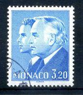 1985 MONACO N.1482 3,20 Principi Ranieri III E Alberto USATO - Used Stamps