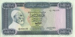Libya 10 Dinars (P37b) 1972 -UNC- - Libië