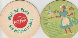 Coaster  - Sous  Bock  -coca-cola - Sous-bocks