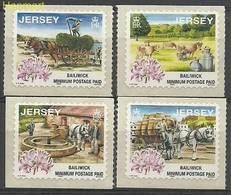 Jersey 1998 Mi 855-858I MNH ( ZE3 JRS855-858I ) - Agricultura