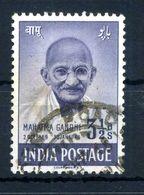 1948 INDIA GANDHI N.4 USATO - Gebraucht