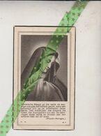 Mathilde Debruyne-Dejaegher, Vladsloo 1884, 1947 - Todesanzeige