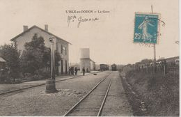 L'ISLE EN DODON                            LA GARE - France