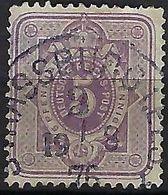 ALLEMAGNE 1875:  Le Y&T 37, TB  Obl. CAD Strassburg I. Elsass Du 19.8.76 - Usati