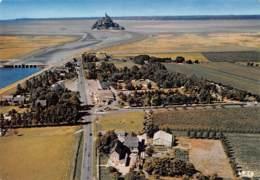 LE MONT SAINT MICHEL   Vue Aérienne - Le Camping Du Mont Saint Michel     9 (scan Recto Verso)MH2965 - Le Mont Saint Michel