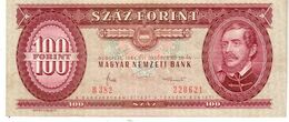 Hungary P.171g 100 Forint 1984 Au+ - Hungary
