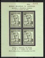 Pi De Llobregat Ed. Nr. 18A - Spanish Civil War Labels