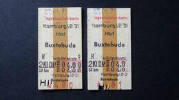 Germany - Deutsche Bundesbahn - Hamburg - Buxtehude - DM 4,00 - 27.01.1971 - Chemins De Fer