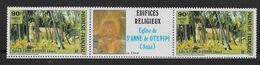 1985 Polynésie Française N°243A . Nf** MNH . Edifices Religieux - Polinesia Francese