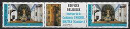 1985 Polynésie Française N°244A . Nf** MNH . Edifices Religieux - Polinesia Francese
