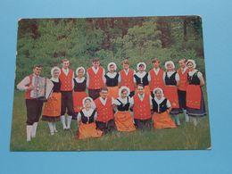 "Volkskunstgroep "" DIE LANDOUWE "" Genk > Anno 1971 ( Druk E. Olaerts : Zie/voir Foto ) ! - Genk"