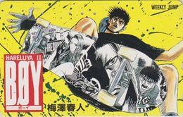 Télécarte JAPON / 110-187929 - MANGA - WEEKLY JUMP  - BOYS HALELUYA - ANIME JAPAN Phonecard- 12185 - BD