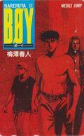 Télécarte JAPON / 110-011 - MANGA - WEEKLY JUMP - BOYS HALELUYA - ANIME JAPAN Phonecard- 12186 - Stripverhalen