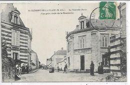 49, Maine Et Loire, SAINT CLEMENT DE LA PLACE, La Nouvelle Poste, Scan Recto Verso - Other Municipalities