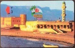 Telefonkarte Oman -  Marbat - Architektur -  43OMNX - Oman