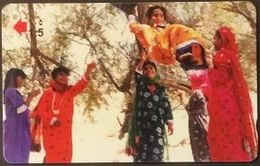 Telefonkarte Oman -  Al Maranjuha Game - Kinder - Tradition -   48OMNE - Oman