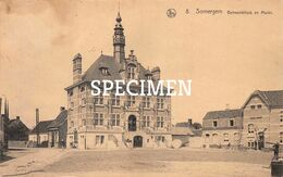 8 Gemeentehuis En Markt - Zomergem - Zomergem