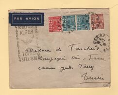 Algerie - 1er Vol Postal Alger Tunis - 3 Fevrier 1936 - Airmail