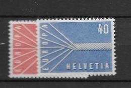 1957 MNH Cept Switzerland - 1957