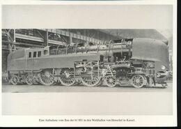 Nr. 155 Lokportrat Baureihe 61 Und Der Henschel - Wegmann - Zug --  Bild 2 - Trenes