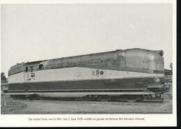 Nr. 155 Lokportrat Baureihe 61 Und Der Henschel - Wegmann - Zug --  Bild 3 - Trenes