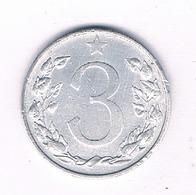 3 HALLER  1953   TSJECHOSLOWAKIJE /5813/ - Tchécoslovaquie