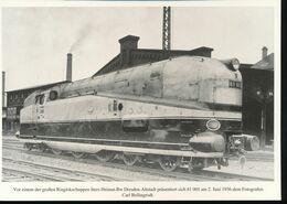 Nr. 155 Lokportrat Baureihe 61 Und Der Henschel - Wegmann - Zug --  Bild 4 - Trenes