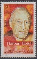 FRANCE    N° 3344 * *   Volcans Haroun Tazieff - Volcanos