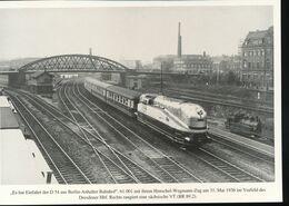 Nr. 155 Lokportrat Baureihe 61 Und Der Henschel - Wegmann - Zug --  Bild 5 - Trenes