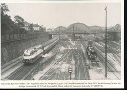 Nr. 155 Lokportrat Baureihe 61 Und Der Henschel - Wegmann - Zug --  Bild 6 - Trenes