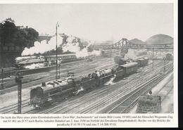 Nr. 155 Lokportrat Baureihe 61 Und Der Henschel - Wegmann - Zug --  Bild 7 - Trenes