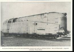 Nr. 155 Lokportrat Baureihe 61 Und Der Henschel - Wegmann - Zug --  Bild 8 - Trenes