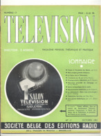 """Revue """" TELEVISION """" N°17 D'octobre 1951 - Magazine Théorique Et Pratique - Salon De La Télévision  Paris - Radio (b282) - Audio-Visual"""