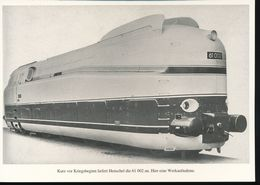 Nr. 155 Lokportrat Baureihe 61 Und Der Henschel - Wegmann - Zug --  Bild 11 - Trenes