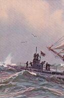 Puzzle Von 2 Karten - Schiffe - Signiert     (200724) - Guerre