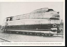 Nr. 155 Lokportrat Baureihe 61 Und Der Henschel - Wegmann - Zug --  Bild 12 - Trenes