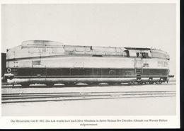 Nr. 155 Lokportrat Baureihe 61 Und Der Henschel - Wegmann - Zug --  Bild 13 - Trenes