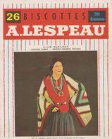 Vignette Biscottes A. Lespeau - N°15 - Club Wakanda - Indienne Pueblo - Arizona Nouveau Mexique - Biscottes