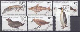 BULGARIE 1995  Mi.nr: 4157-4162 Tiere Der Antarktis  Oblitérés - Used - Gebruikt - Usati