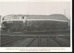 Nr. 155 Lokportrat Baureihe 61 Und Der Henschel - Wegmann - Zug --  Bild 15 - Trenes