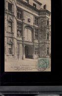 CARTE POSTALE GAILLON. Entrée Du Château. Elevé Par Le Cardinal G. D'Amboise Et Actuellement Transformé Maison De Détenu - Other Municipalities