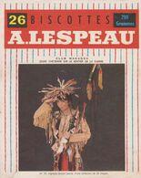 Vignette Biscottes A. Lespeau - N°23 - Club Wakanda - Jeune Cheyenne Sur Le Sentier De La Guerre - Biscottes