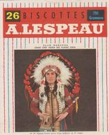 Vignette Biscottes A. Lespeau - N°24 - Club Wakanda - Grand Chef Indien Des Plaines Sioux - Biscottes