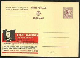 Belgio/Belgium/Belgique: Intero, Stationery, Entier, Bandiera Pirata, Pirate Flag, Drapeau De Pirate - Flaggen